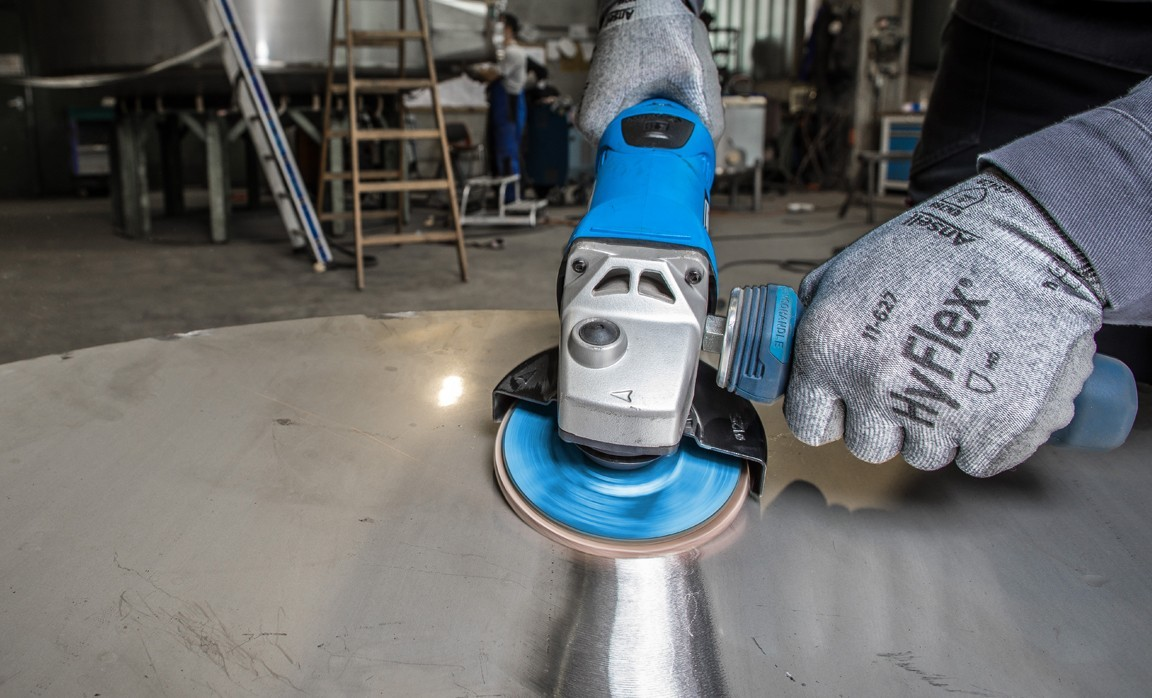 POLIFAN CO-FREEZE SG INOX: Powerful specialist tool for working with stainless steel